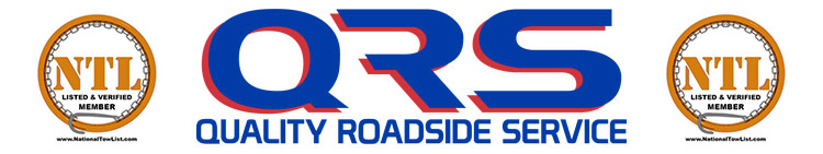 Quality Roadside Service and Towing | Accident Recovery | Annapolis | MD| Qrs Logo